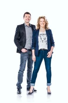 Die Geschäftsführer von Gesslein: Alexander Popp (li.) und Jeannine Merkl (re.)