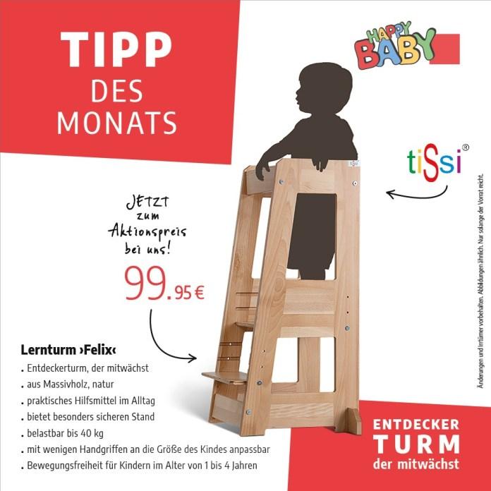 Tipp des Monats vom September 2020 - Lernturm Felix von Tissi - Teaser