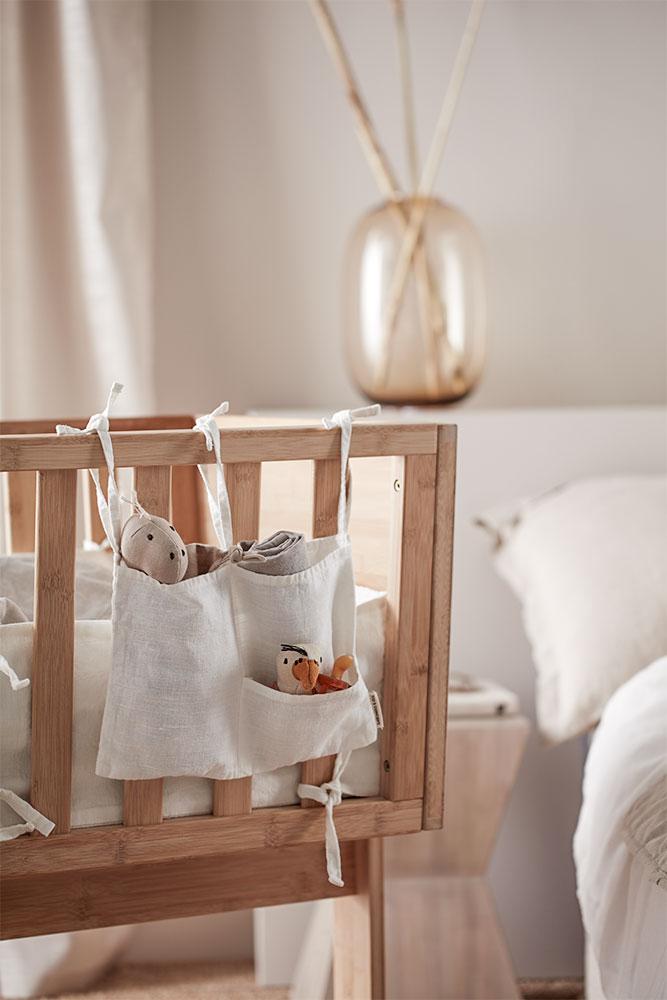 Storage ist immer ein Thema –für Kleinigkeiten hübsch gelöst von Kid's Concept.