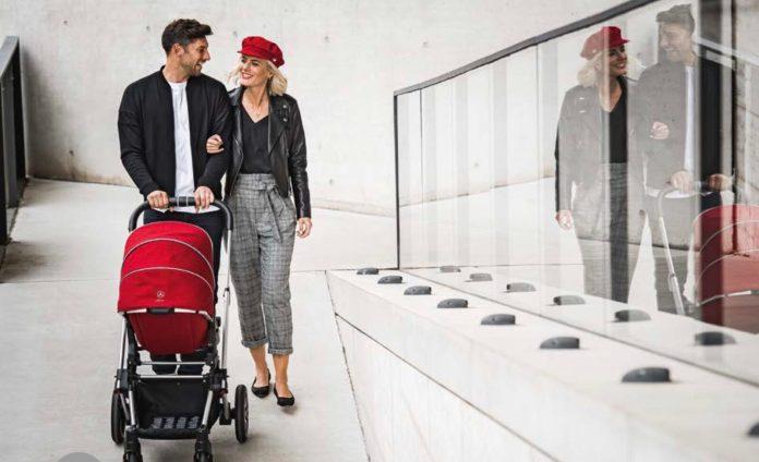 Hartan fertigt Kinderwagen als Partner von Mercedes-Benz und AMG.