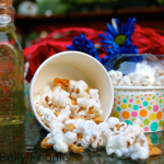 Salted Honey Popcorn Treats