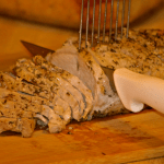 Salt Crusted Pork Roast