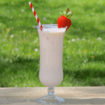 Strawberry Banana Kefir Smoothie ~ How to make milk Kefir