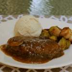 Pressure Cooker Salisbury Steak