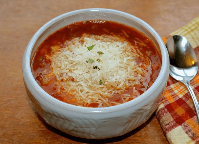 Instant Pot Pasta e Fagoli
