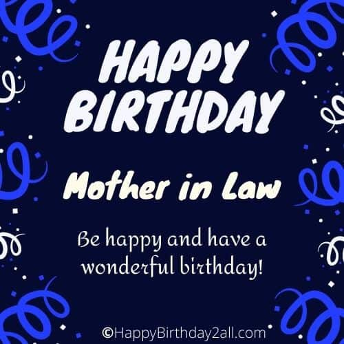 Birthday Wishes For Mother In Law Bday Greetings Messages