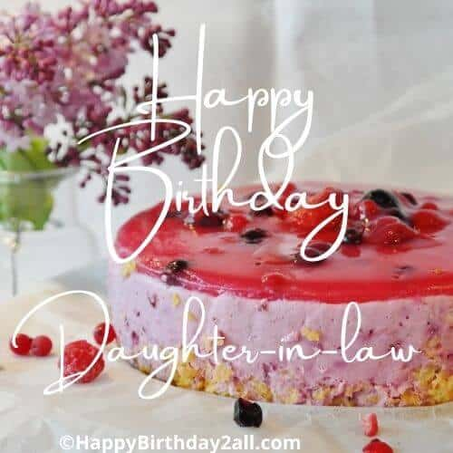 Birthday Wishes For Daughter In Law Birthday Greetings