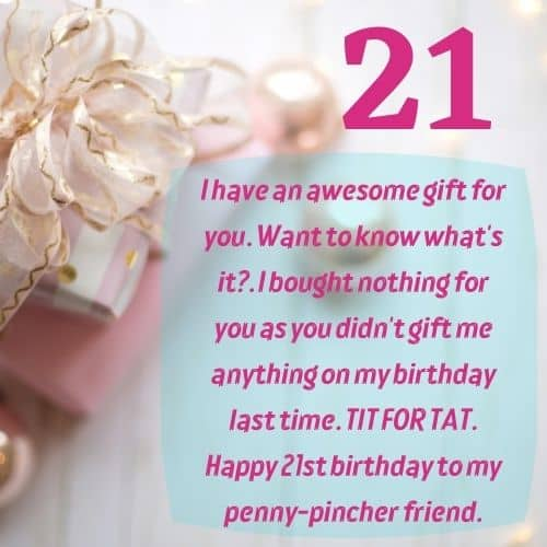 Happy 21st Birthday Wishes Messages Sayings Quotes