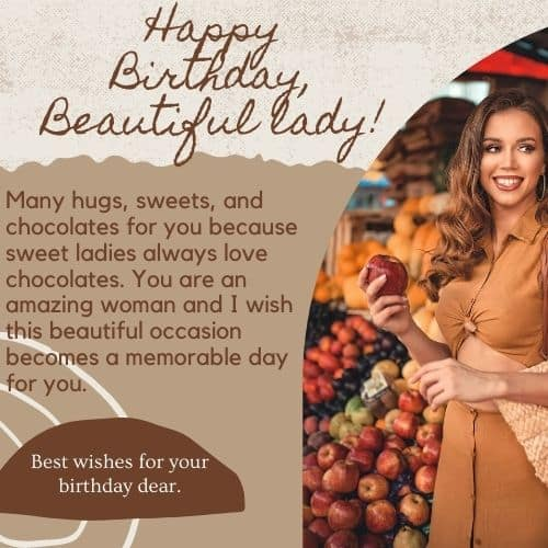 Special Birthday Wishes For Women Happy Birthday Woman