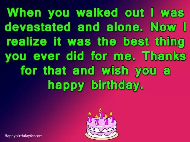 Happy Birthday Wishes To Your Ex Husband 99 Best Messages