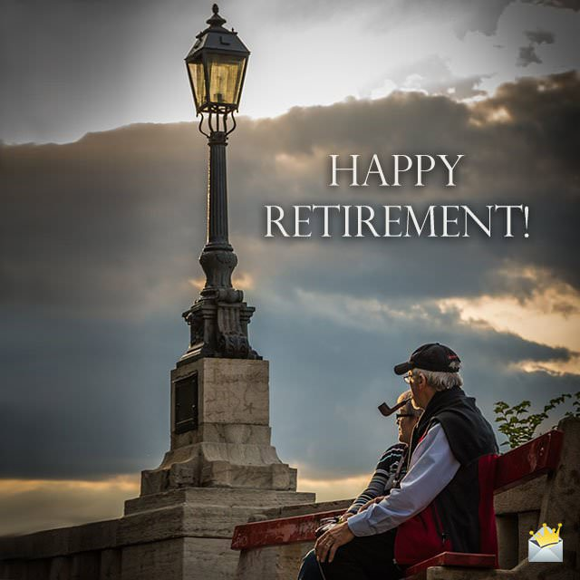 Retirement Wishes For Lucky Pensioners From The Heart