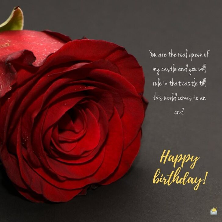 Happy Birthday For Your Wife Romantic Cute Quotes For Her