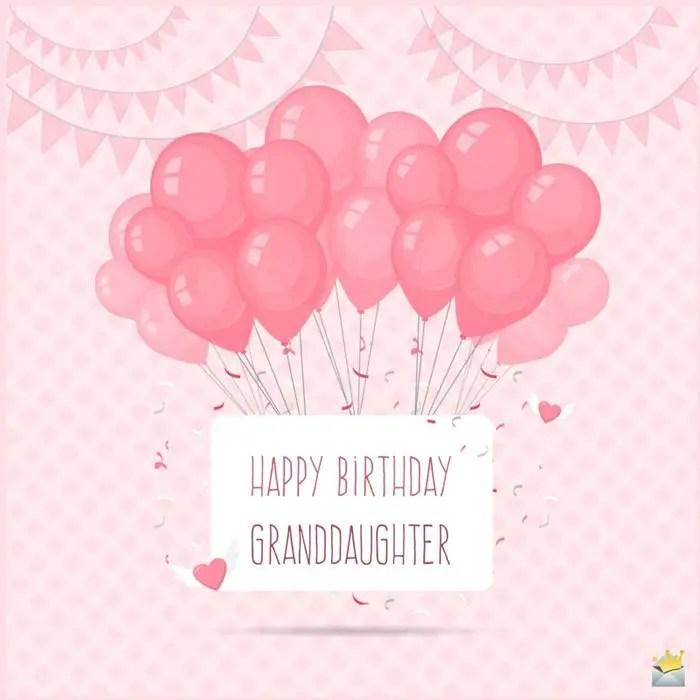 Happy Birthday Granddaughter That Amazing Girl Of Mine