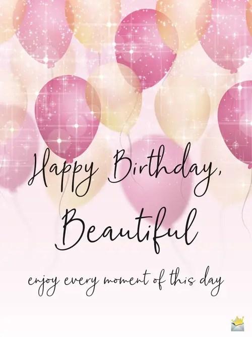 Happy Birthday Beautiful Shine Like The Star You Are