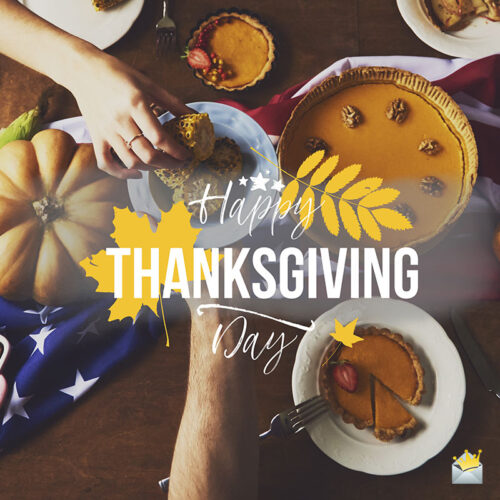 Happy Thanksgiving image to use on chats and emails.