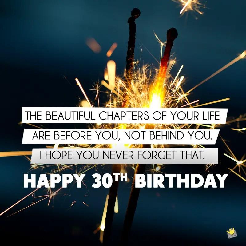 Happy 30th Birthday 30 30 Birthday Quotes
