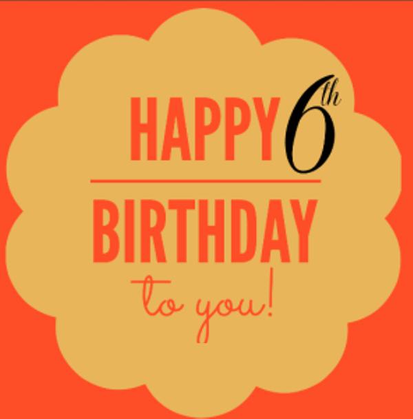 28 Happy 6th Birthday Photos