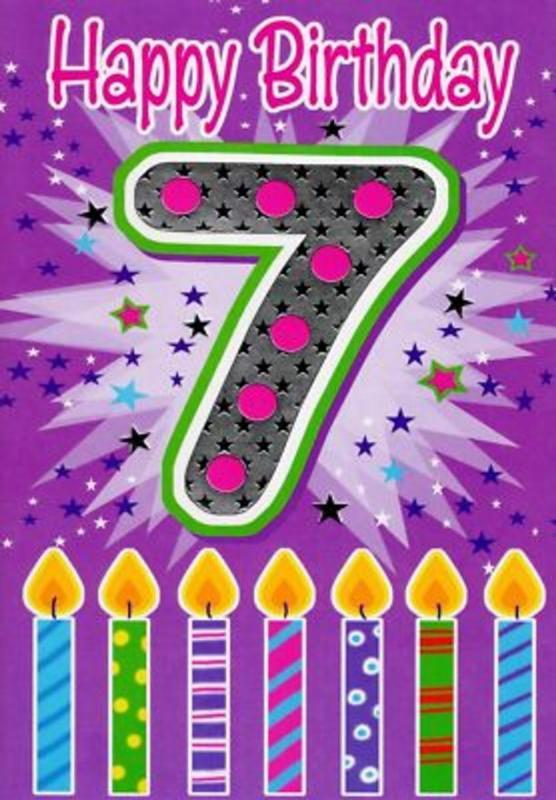 40 Amazing Wishes For 7th Birthday