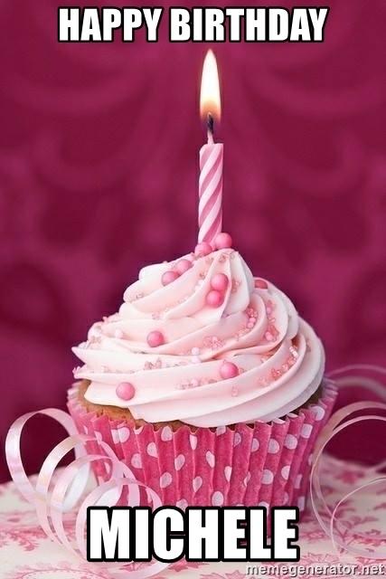 Happy Birthday Michele