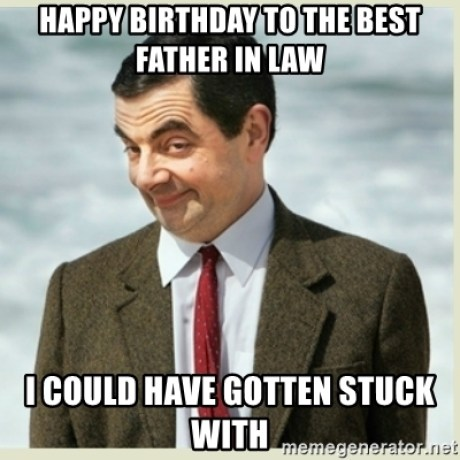 Happy Birthday Father In Law Meme