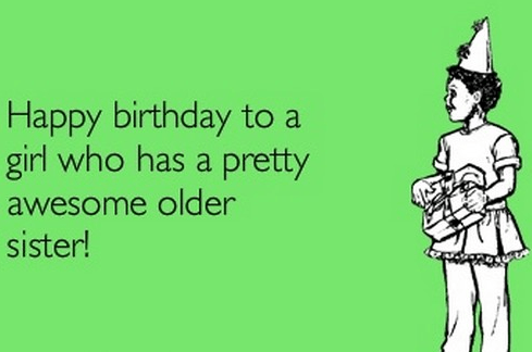 Happy Birthday Memes For Little Sister