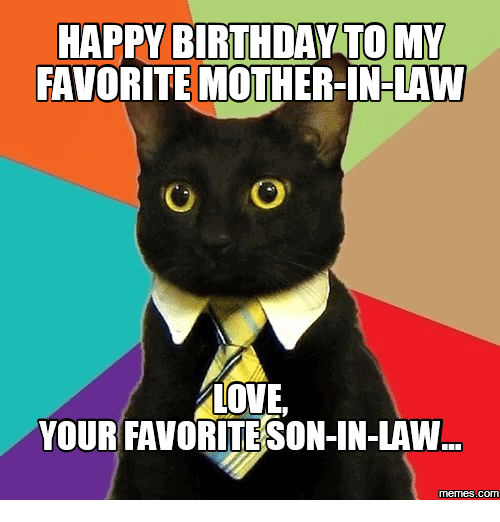 Happy Birthday Memes For Mother In Law