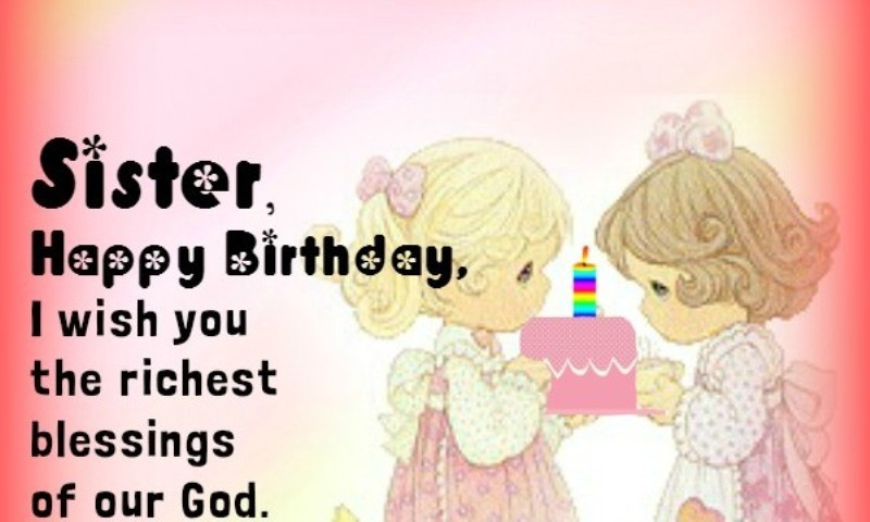 Birthday Images For Sister Pictures Photos Wallpapers