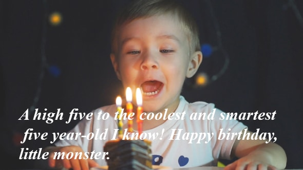Awesome Happy 5th Birthday Wishes For Daughter And Son