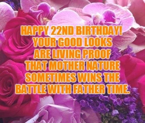 Happy Birthday 22st wishes 2019