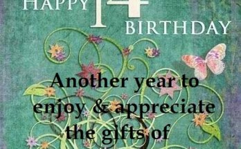 Top 100 Happy 14th Birthday Wishes For Girl & Boy