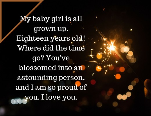 Happy Birthday wishes for 15 Year old daughter