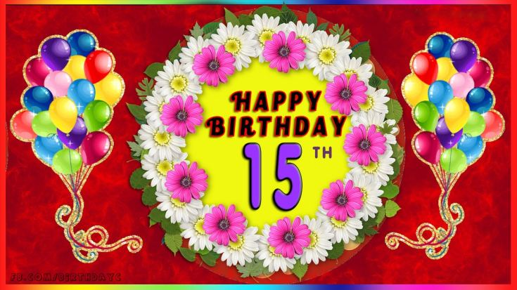 Happy birthday wishes for 15 year old son