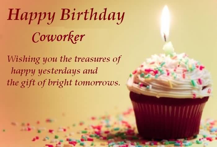 Birthday Wishes For Colleague