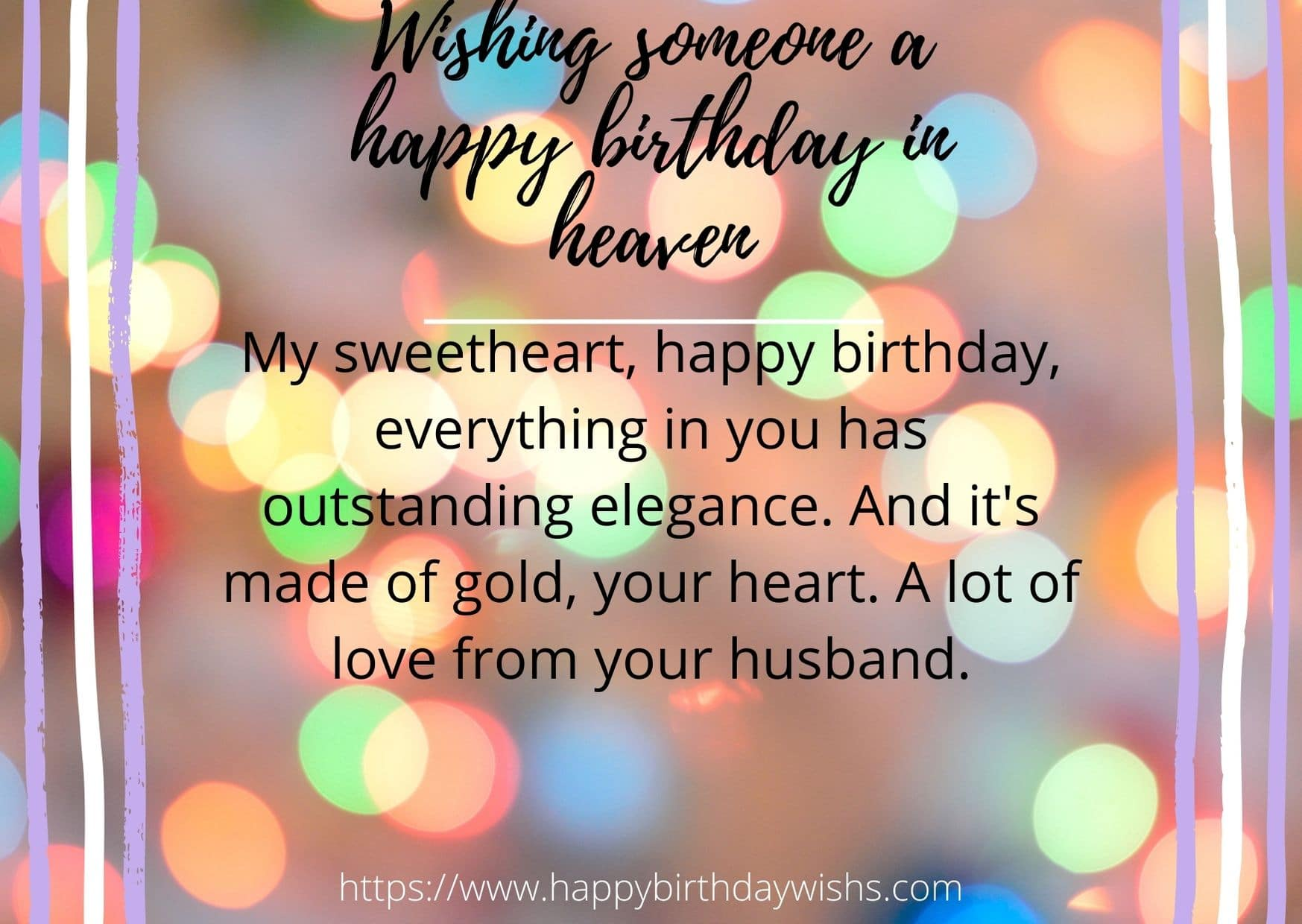100 Birthday Wishes For In Heaven Wife Happy Birthday Wishes