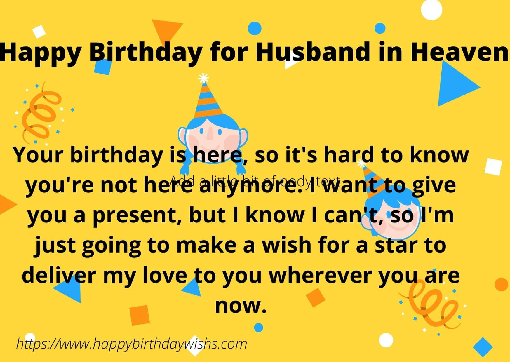 Happy Birthday Wishes For Husband In Heaven Happy Birthday Wishes