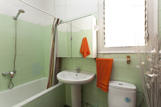 Residencia universitaria con cuarto de baño Barcelona