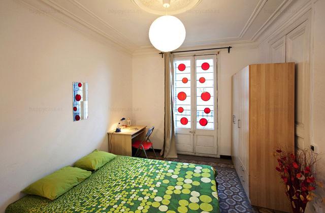 Reservar habitación estudiantes Barcelona Happycasa Eixample