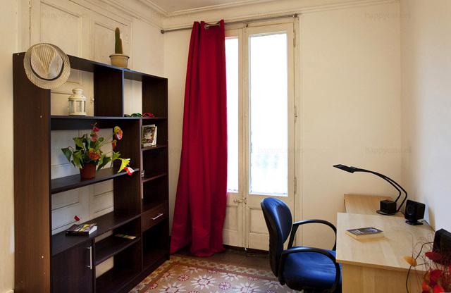 Habitación amplia en alquiler Barcelona parque de la Ciutadella