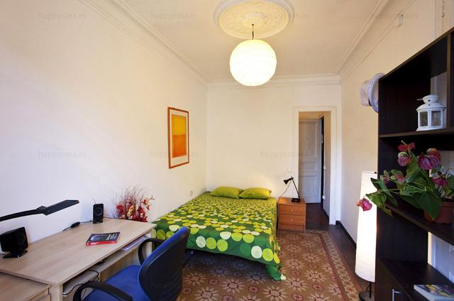 Habitación en apartamento compartido Barcelona Arco de Triunfo