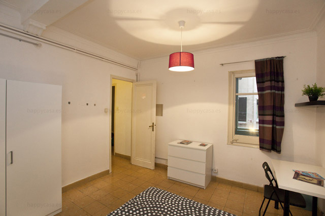 Alquilar cuarto cómodo en Barcelona cerca parque Güell ALT