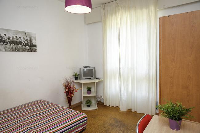 Chambre extérieure avec tv et internet Barcelone