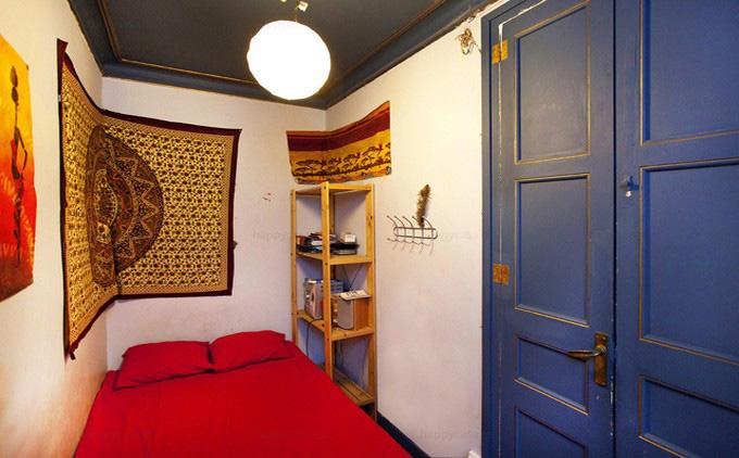 Dormitorio barato cama individual en Barcelona Tetuan