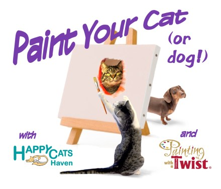 Paint Your Cat (or Dog!)