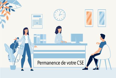 Permanence du CSE