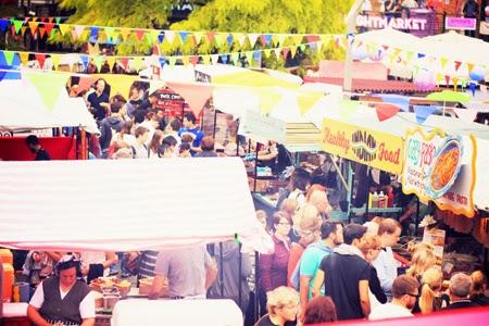 Que faire à Londres ? Camden food market