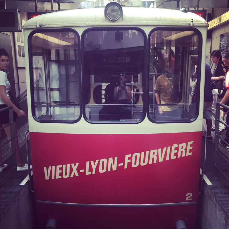 Funiculaire Lyon Fourvière