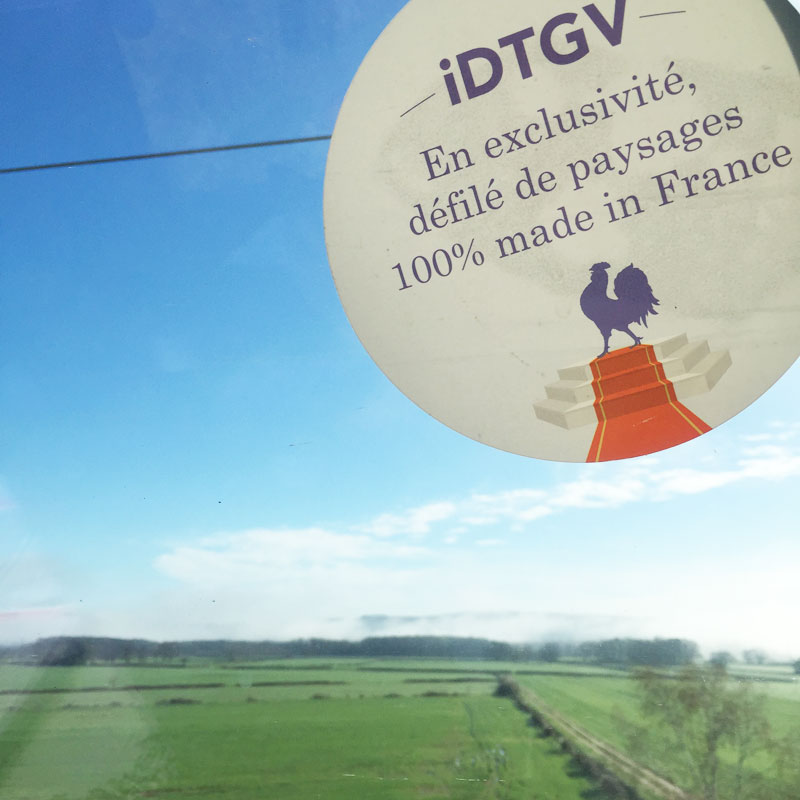 Paris-Montpellier en TGV