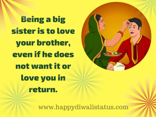 The Indian festival of brother-sister love, share SMS on This post