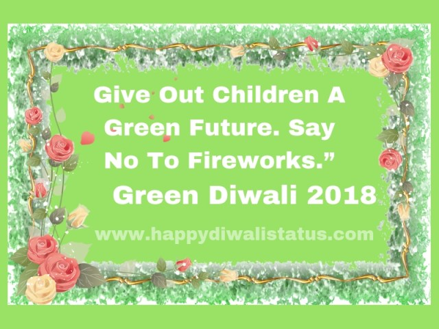 How you can Observe Smokeless, Noiseless and safe Diwali without crackers
