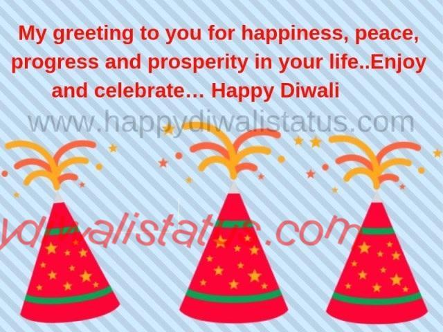 celebrates Diwali